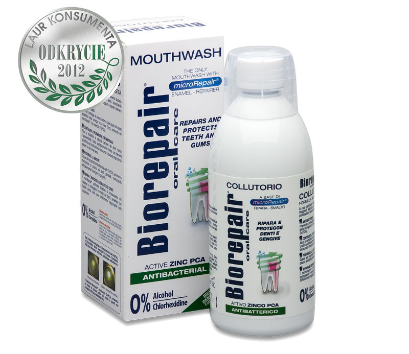Biorepair 4-action mouthwash, 500 мл